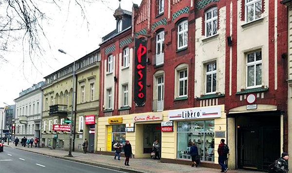 Centrum Handlowe Passo podlegające komercjalizacji
