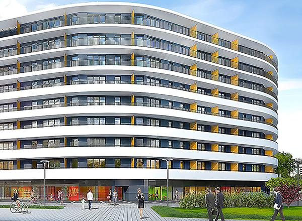 Lokal handlowy w apartamentach Kopernik w Białymstoku