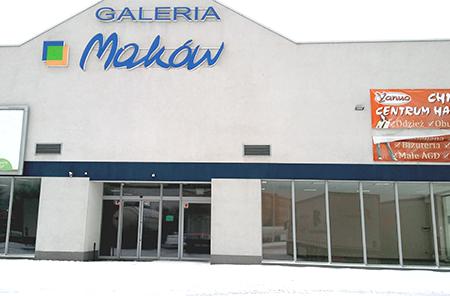 Galeria handlowa Maków - powierzchnie podlegające komercjalizacji